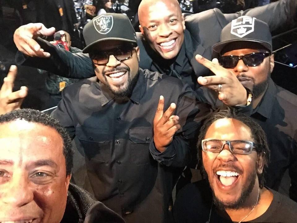 Kendrick Lamar NWA selfie