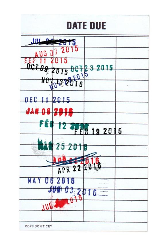 Des dates, des dates et encore des dates...