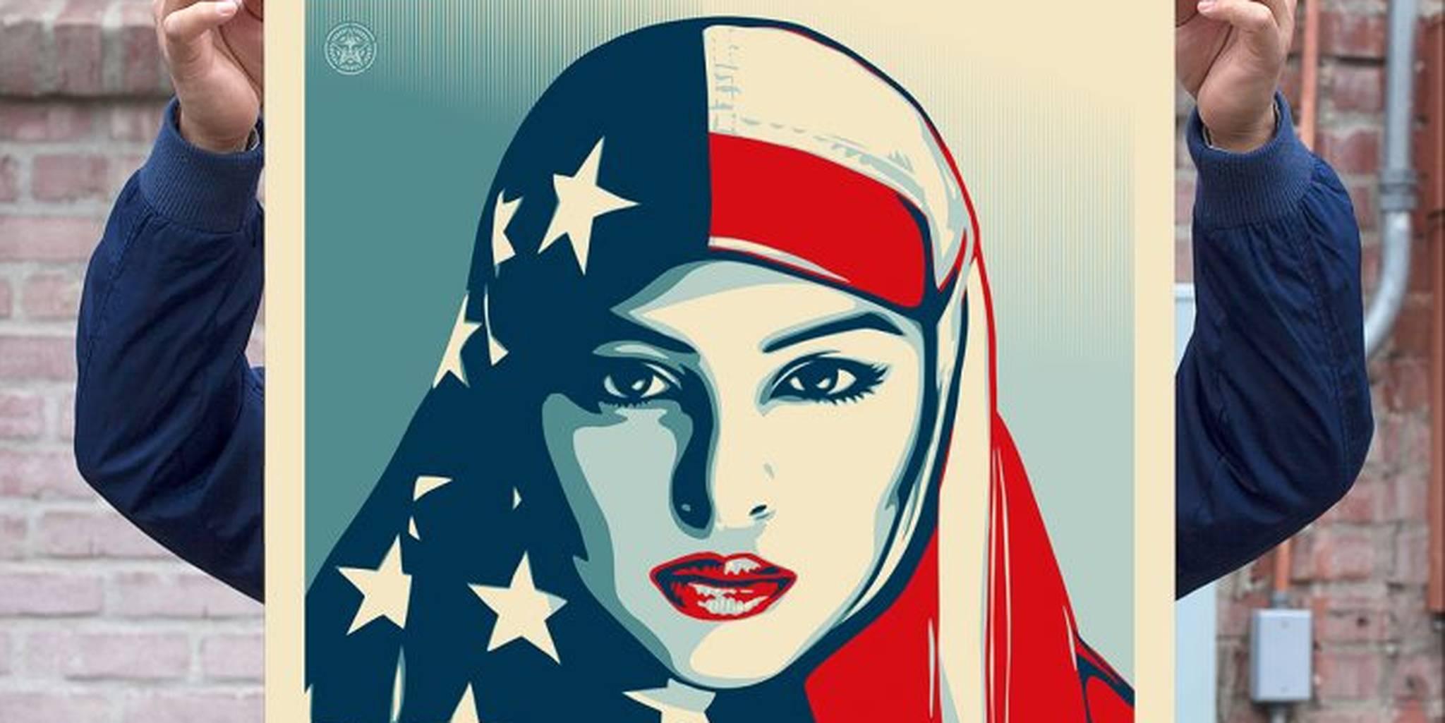 Shepard Fairey vs Donald Trump