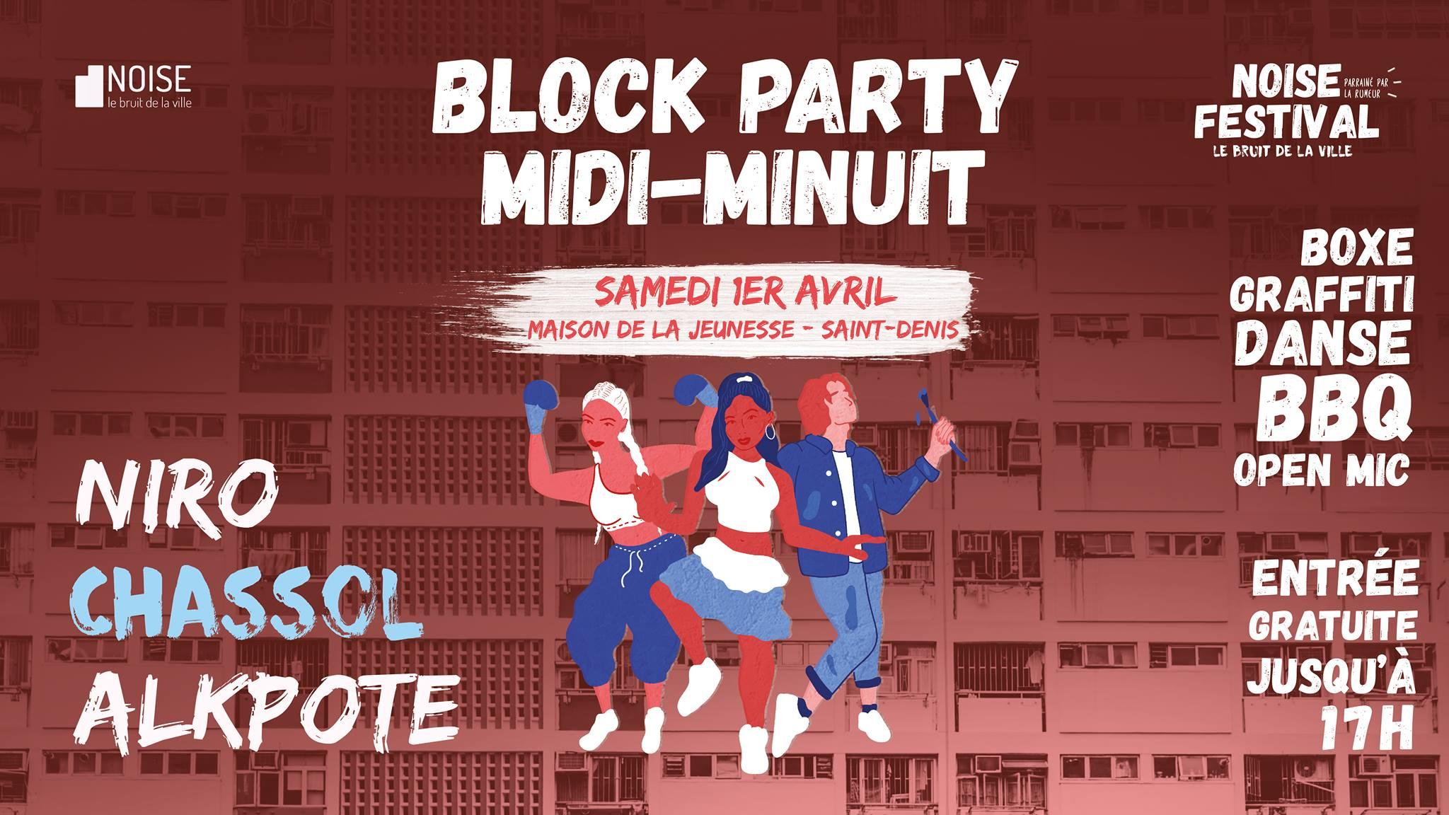 Block Party Midi-Minuit