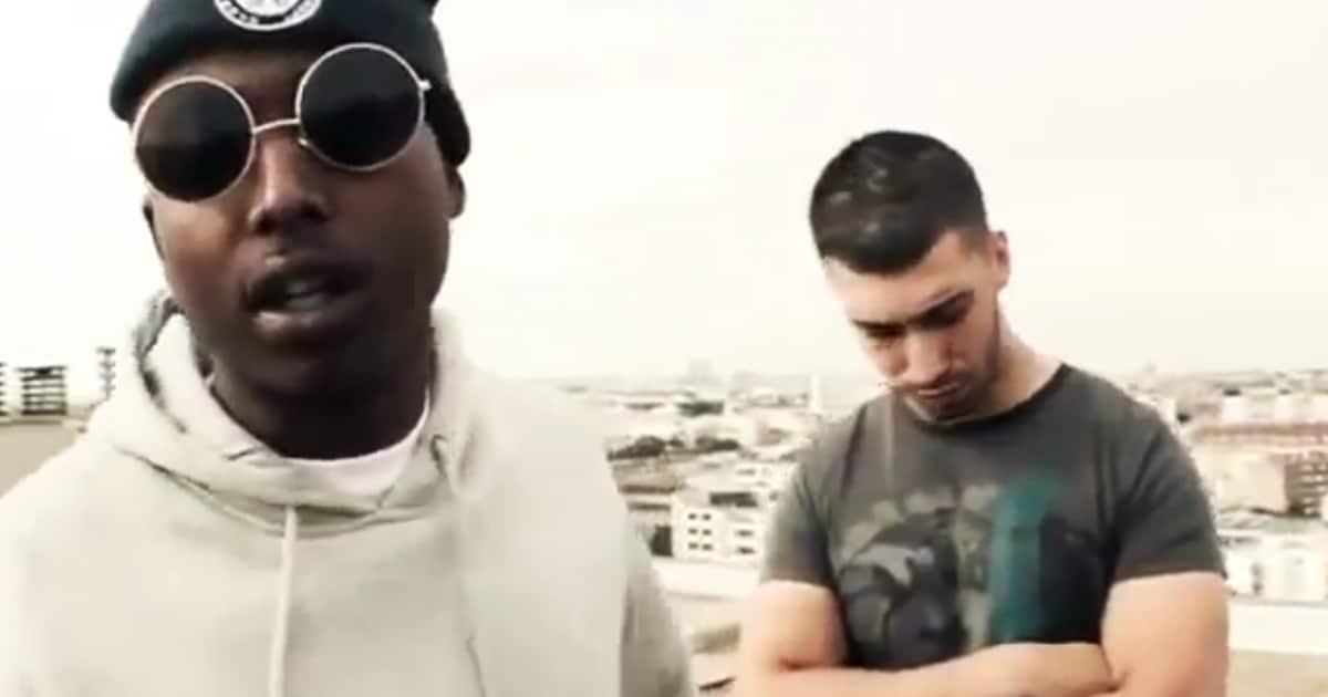 Ademo et N.O.S faisaient leur premier pas dans le Rap au côté de Guizmo