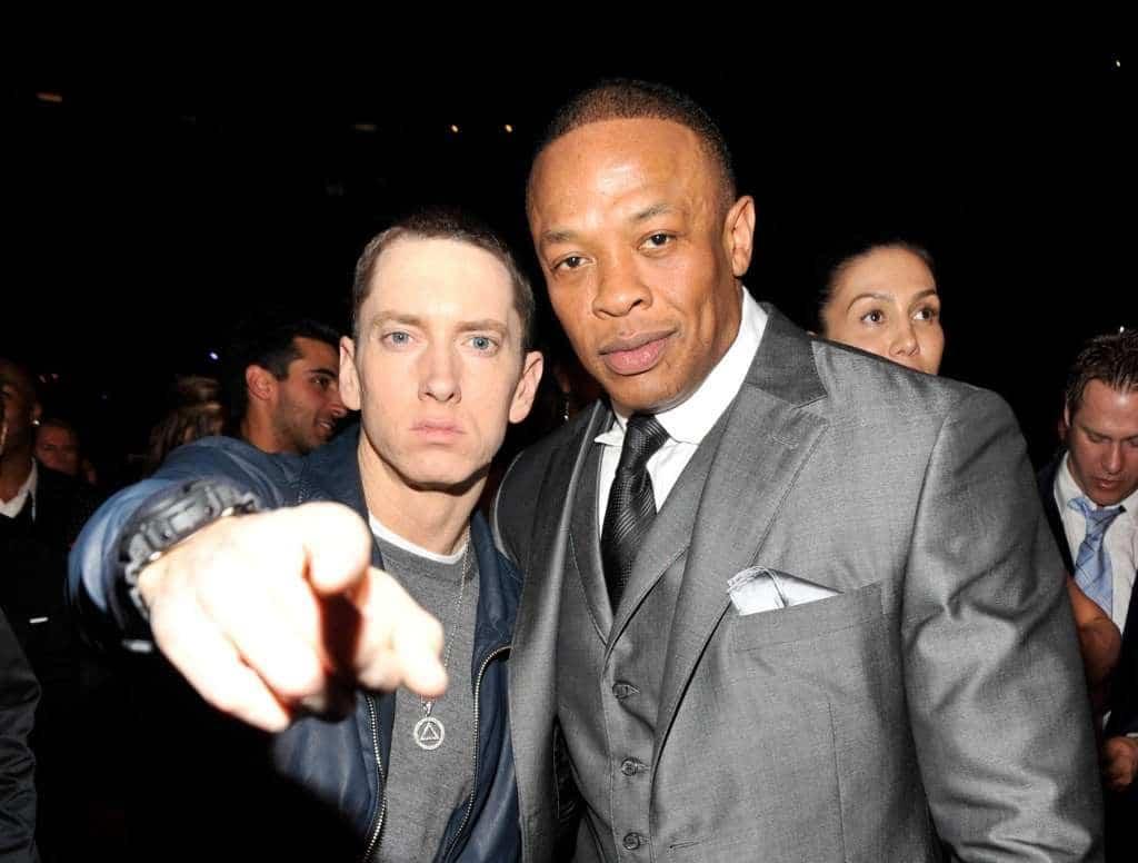 Dr Dre sera bien sur le prochain album d'Eminem