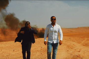 """Lacrim et Maître Gims en mode course poursuite dans le clip de """"Ce soir ne sors pas""""."""