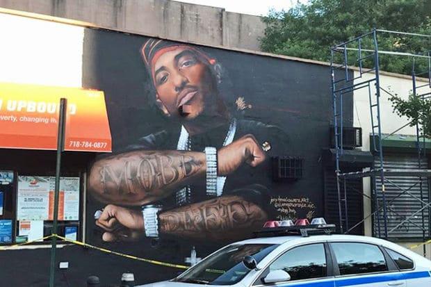 Une fresque murale en hommage à Prodigy est apparue à Queensbridge