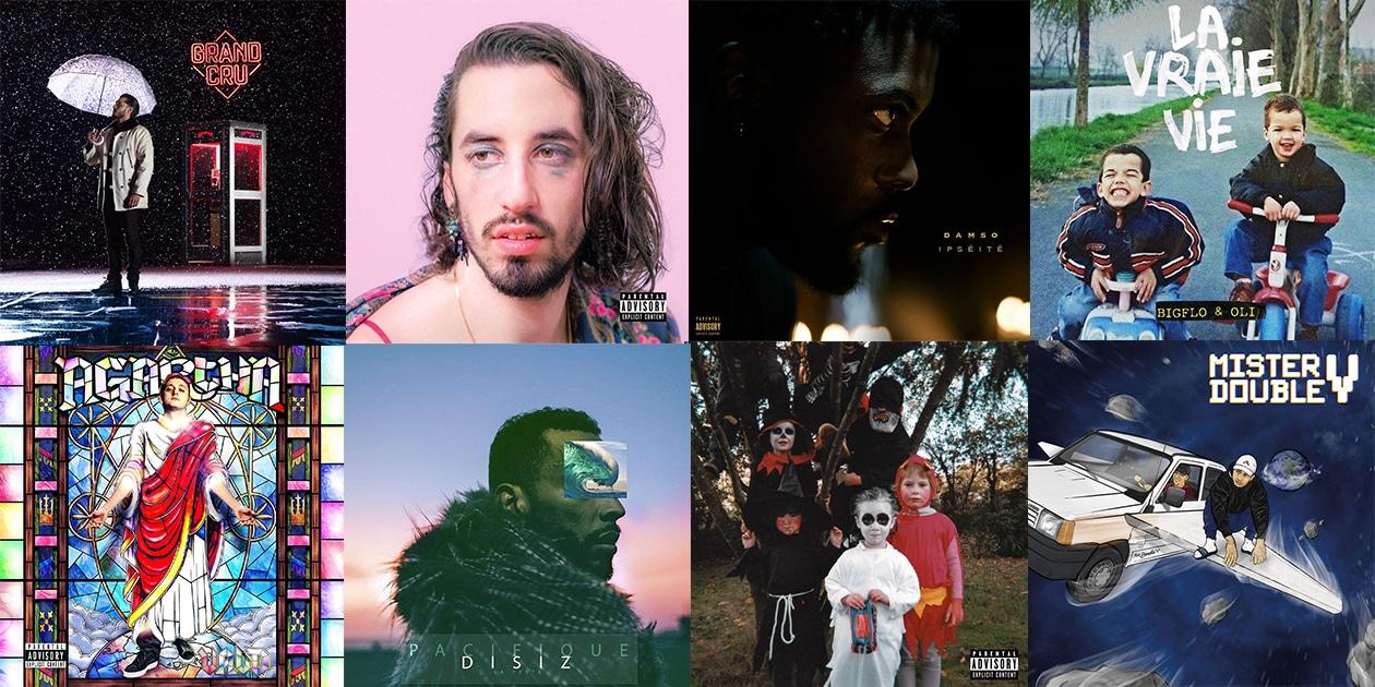 Le rap français a offert l'une de ses meilleures couvées en 2017. Et c'est désormais à vous de les départager.