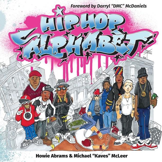 Il existe un livre pour apprendre l'alphabet aux enfants grâce au hip-hop