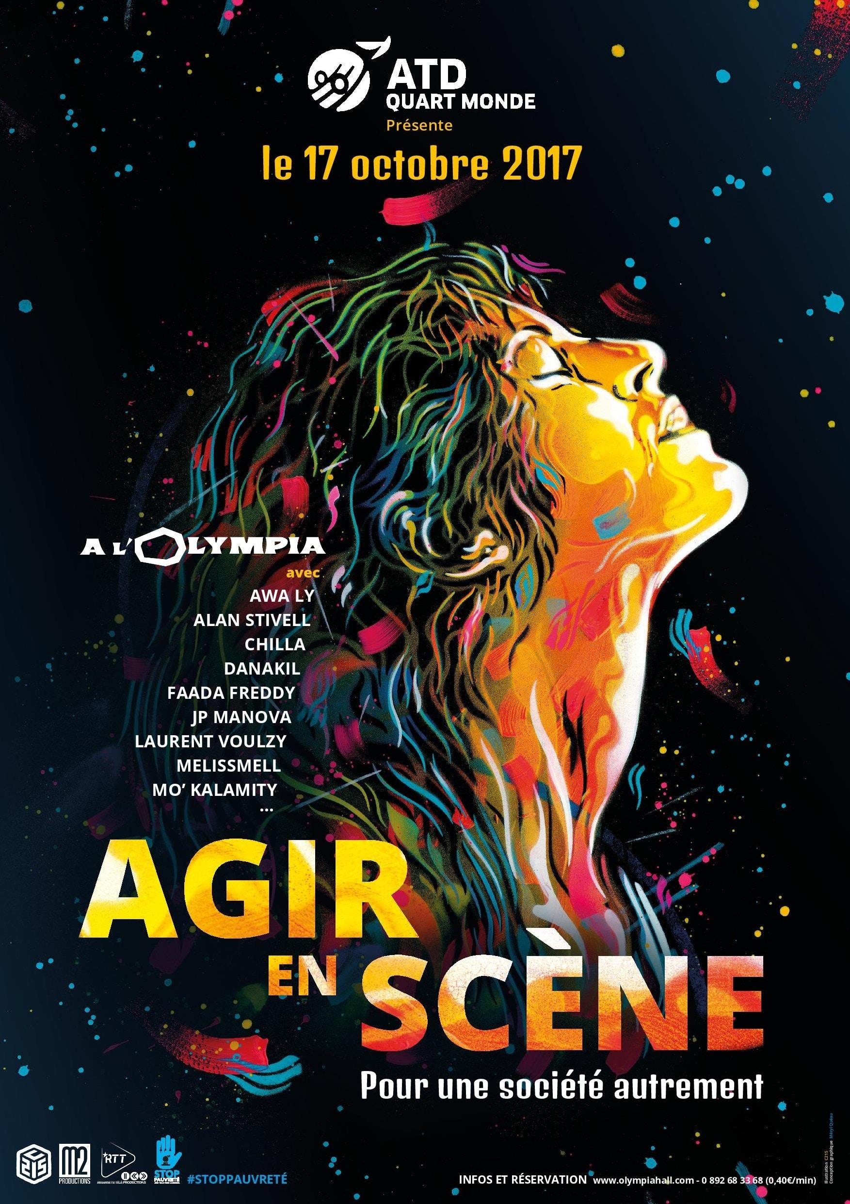 """La célèbre salle parisienne abritera """"Agir en scène"""", un concert caritatif exceptionnel pour lutter contre la pauvreté."""
