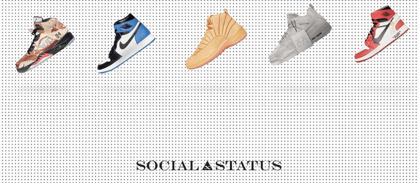 Voici votre chance d'acquérir 5 paires de rares Jordan's !