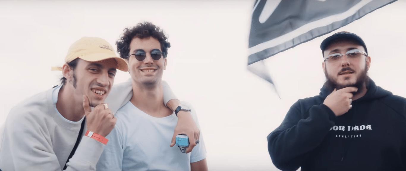 """Caballero, JeanJass et Romeo Elvis sont à Dour pour le clip de """"Vrai ou Faux"""""""