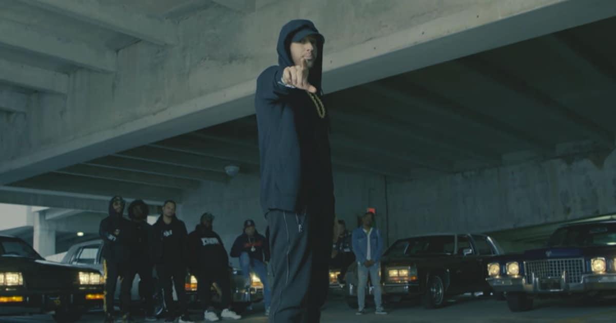 Eminem complètement enragé dans un freestyle contre Donald Trump