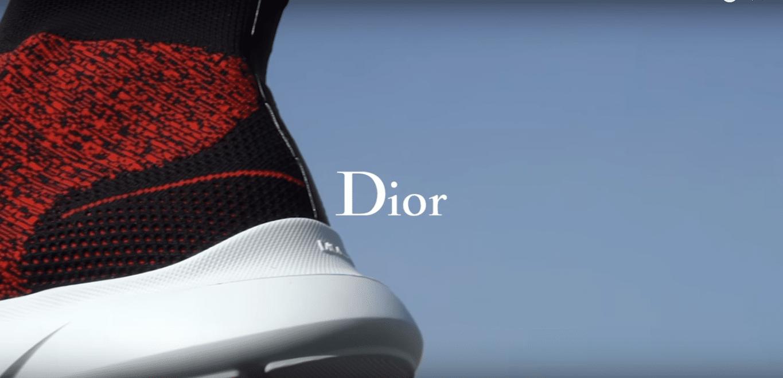 "Dior concurrence Balenciaga avec sa nouvelle ""sock-like"" sneaker"