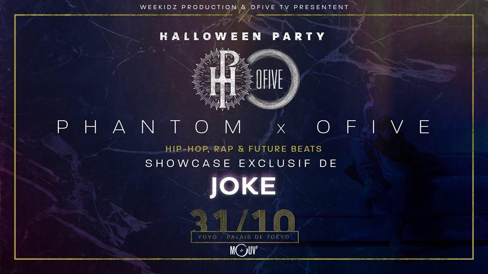 Gagnez vos places pour le showcase parisien de Joke grâce à Phantom & Ofive