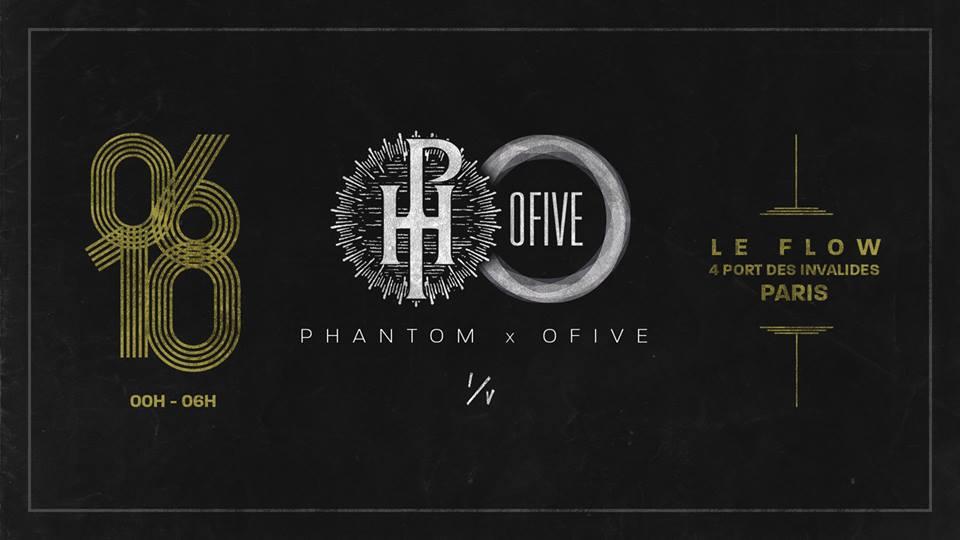 """Gagnez vos places pour les soirées hip-hop """"Phantom x OFive"""" organisées en octobre"""