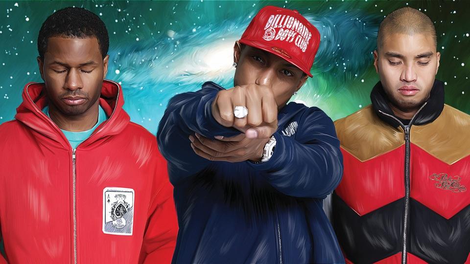 N.E.R.D. annonce une tracklist incroyable pour leur prochain album