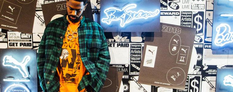 Big Sean va sortir une paire de sneakers en collaboration avec Puma