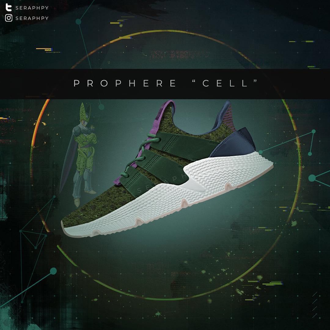 Après Freezer, Cell est à l'affiche de la collaboration Adidas x DBZ