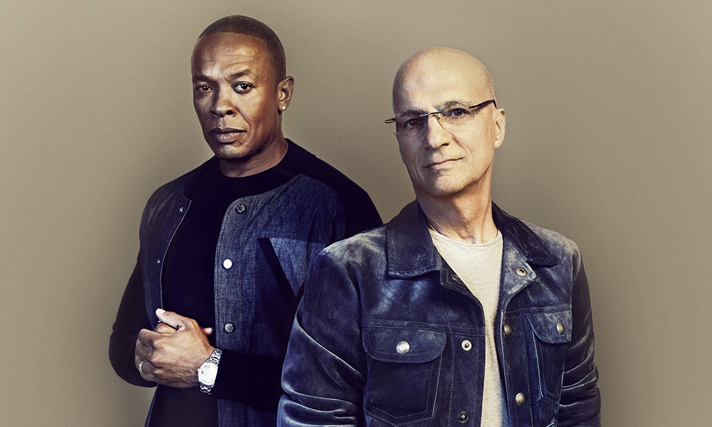 """Diffusée en 2017 sur HBO, la série """"The Defiant Ones"""" se penche sur la collaboration improbable entre Dr. Dre et le producteur Jimmy Iovine"""