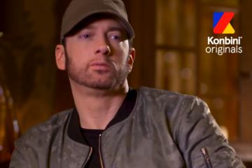 Eminem livre une nouvelle interview originale pour Konbini