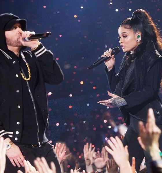 Vidéo : Revivez la magnifique performance d'Eminem et Kehlani cette nuit