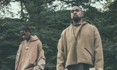 Kanye West Travis Scott Kid Cudi Nas