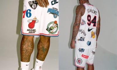JR Smith présente la nouvelle collection Supreme x Nike X NBA