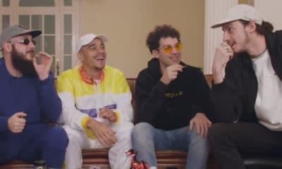 Vidéo : Quand Caballero & JeanJass et Roméo Elvis font fumer Mister V, c'est très drôle