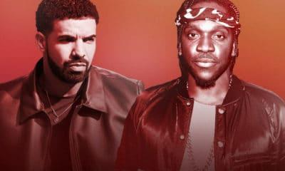 Ce serait donc Kanye West qui aurait révélé à Pusha T l'existence du fils de Drake