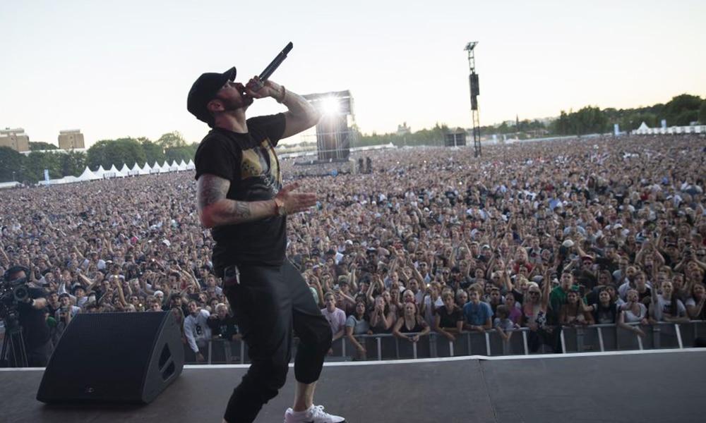 Eminem bat un record d'affluence qui appartenait au Rolling Stones
