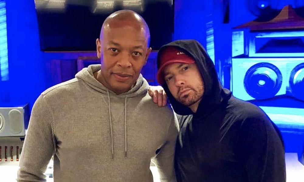"""Eminem : """"Dre m'a dit que j'avais été trop loin sur un morceau, donc je ne l'ai pas mis sur l'album"""""""