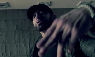 """Eminem s'en prend à ses détracteurs dans le clip de """"Fall"""""""