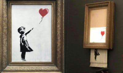 Banksy explique pourquoi il a détruit son oeuvre