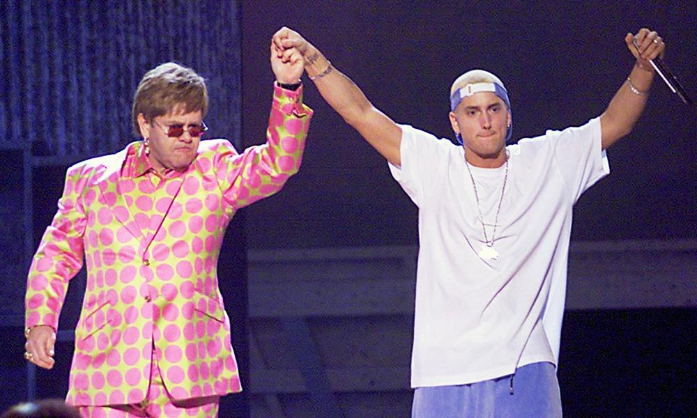 """Eminem et Elton John s'appellent pour discuter de """"Revival"""" et de """"Kamikaze"""""""