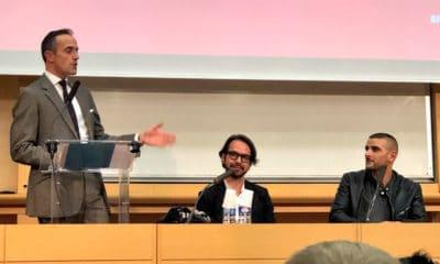 """Fianso a terminé sa conférence à Sciences Po avec un freestyle de """"Toka"""""""