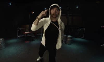 Eminem retourne au Shelter et lâche un freestyle de 11 minutes