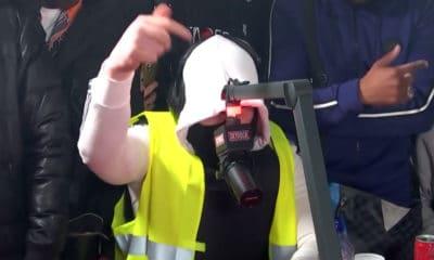 Kalash Criminel lâche un freestyle pour les gilets jaunes sur Skyrock