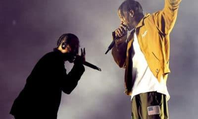 Travis Scott rejoint Kendrick Lamar sur scène à Los Angeles