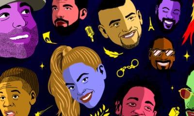 Redbull fait le bilan de l'année rap 2018 en 130 questions