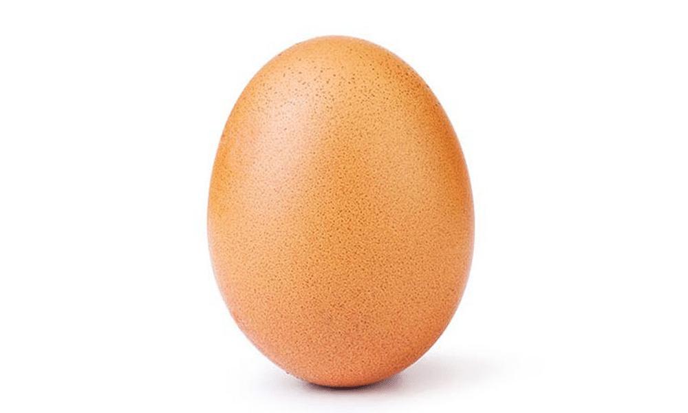 La photo d'un oeuf a battu le record de likes sur Instagram détenu par Kylie Jenner