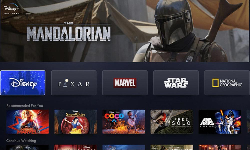 Disney + fin prêt à concurrencer Netflix