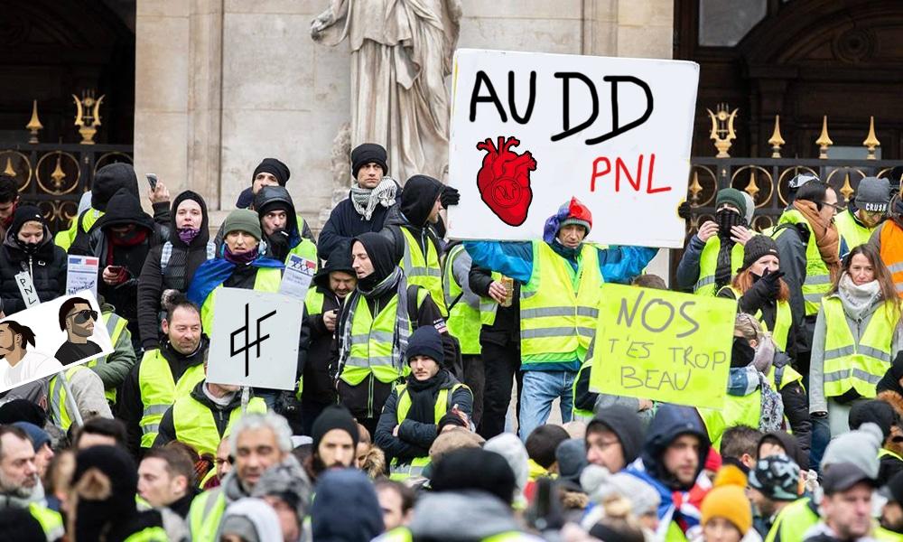 Quand PNL improvise un concert sur les Champs-Elysées