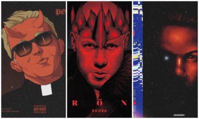 On a parlé avec l'artiste qui imagine des covers de rappeurs français