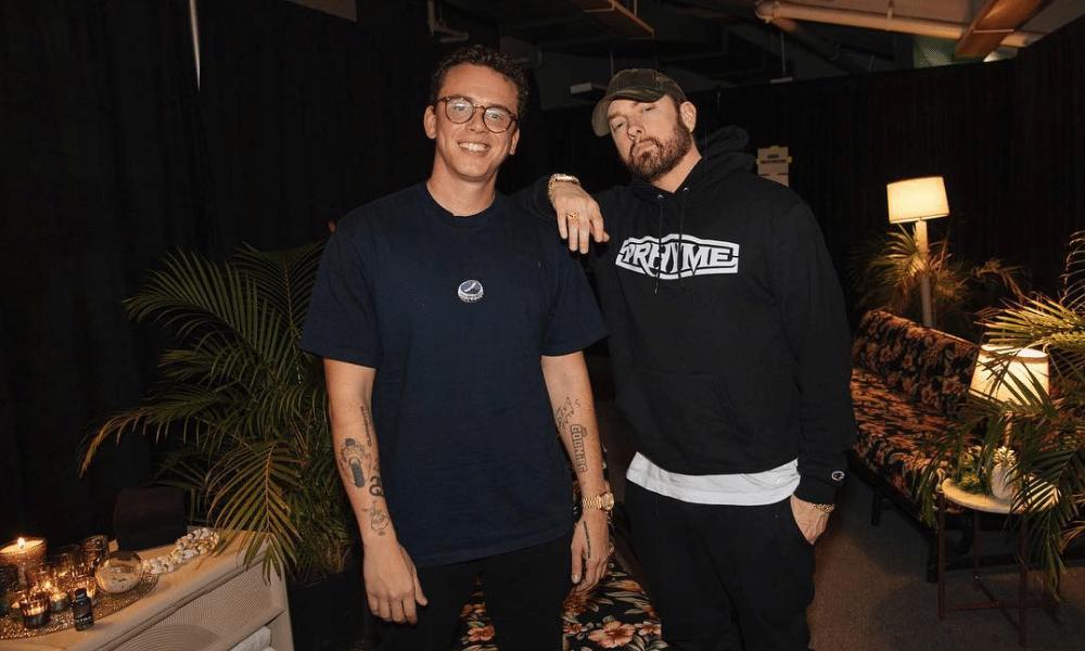 """Les flows irééls d'Eminem et Logic sur """"Homicide"""""""