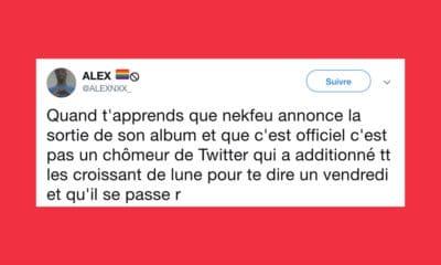 Twitter en feu après l'annonce de l'album de Nekfeu