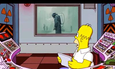 L'improbable (petite) histoire derrière Chernobyl et Les Simpson