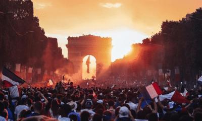 Champions du monde : un an après, les plus belles photos des scènes de liesses dans les rues de Paris