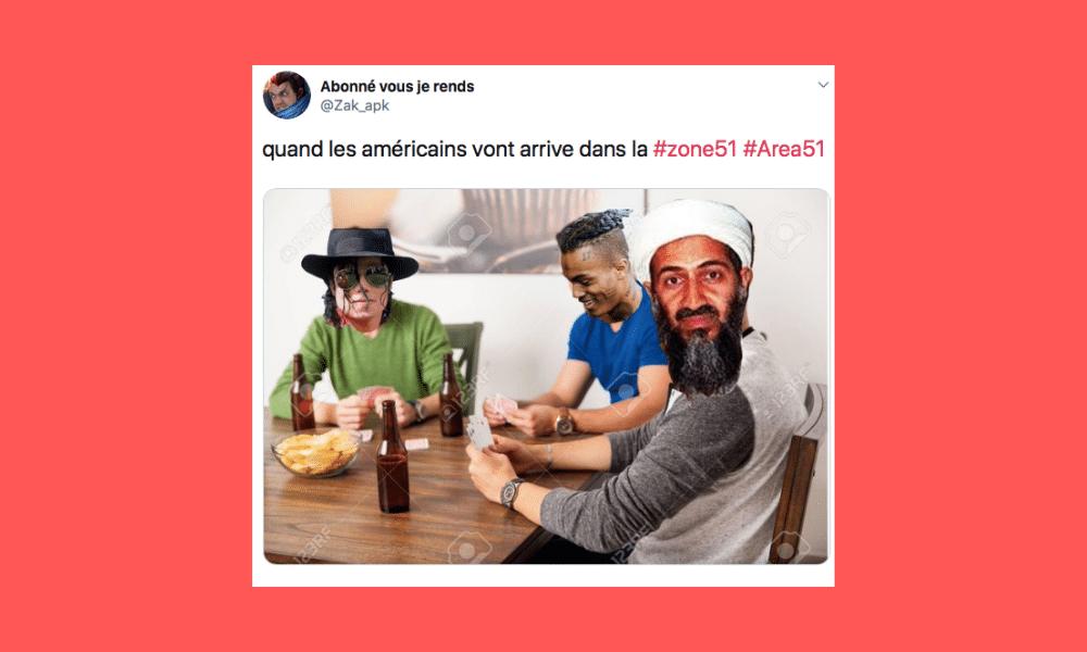 Zone 51 : les meilleurs tweets des internautes