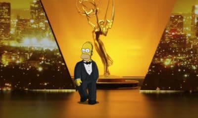 Homer Simpson et Bryan Cranston ouvrent la cérémonie des Emmy Awards