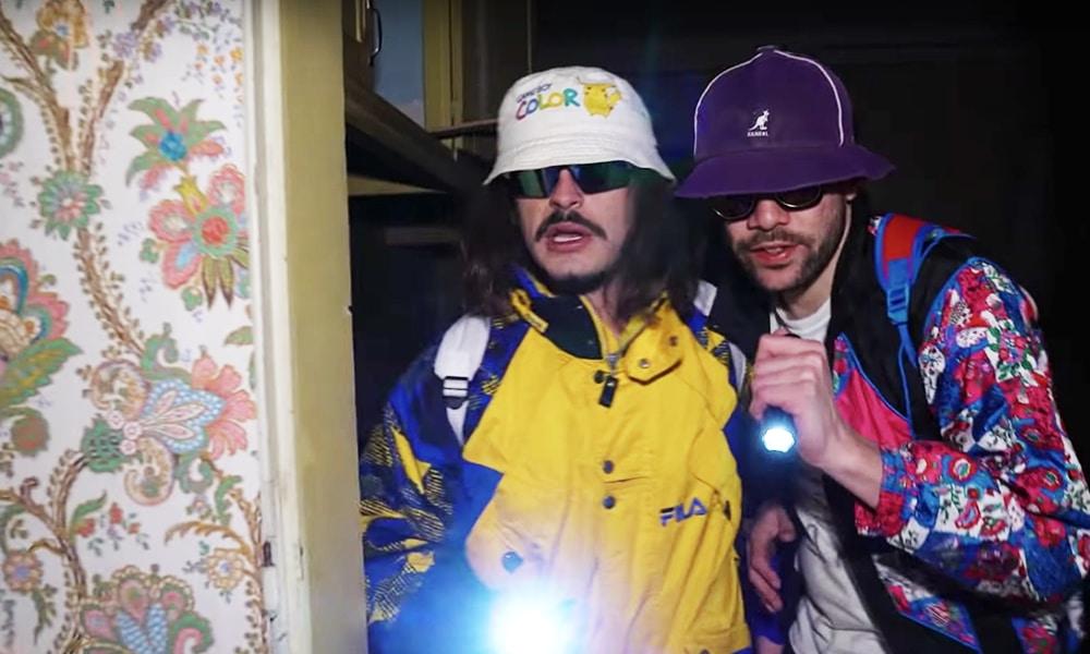 Lorenzo et le Poto Rico cherchent de la weed dans la maison hantée de Mike Douglas