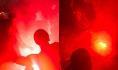On a pris feu dans la fosse du concert de 13 Block