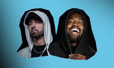 Kanye West déclare être le GOAT, Eminem finit en top tweets